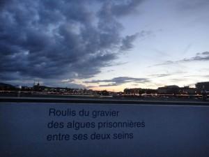 Poésie aux Bains des Pâquis à Genève