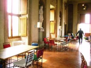 Cafeteria de la Villa Medicis à Rome